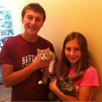 Naomi & Robin with their New Family