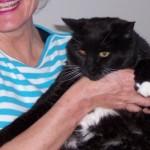 Oreo with New Mom