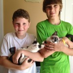 Mini & Carrera with their New Family