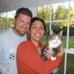Sadie with Nicole & Aaron